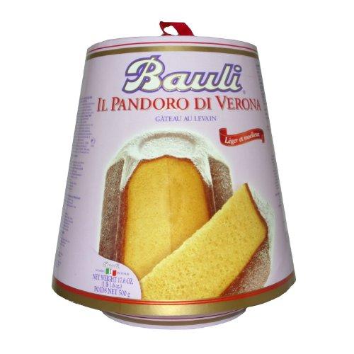2015年予約/[Bauli]バウリ、パンドーロ 500g イタリア・クリスマスケーキ