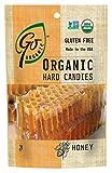 GoOrganic Honey Gluten Free Hard Candies, 3.5-Ounce Bags (Pack of 6)