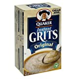Quaker Instant Grits Original, 12-Count Box (Pack of 6)