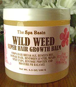wild weed super hair growth formula soften and moisturize dry frizzy hard to