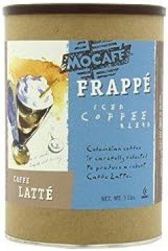 MOCAFE Frappe Caffe Latte, Ice Blended Coffee, 3-Pound Tin