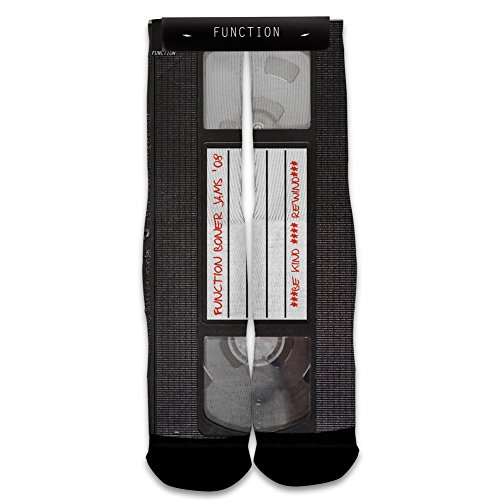 Function - Vintage VHS Tape Printed Sock