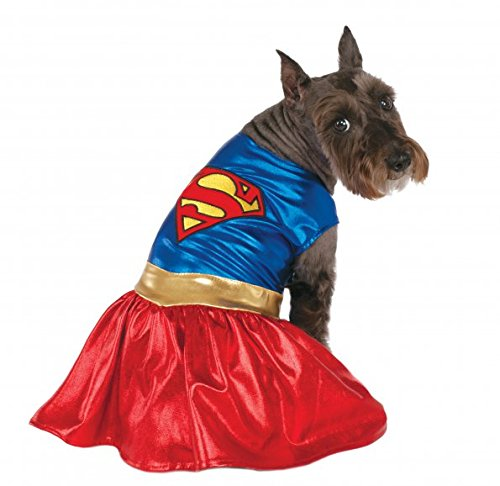 Rubies Costume DC Heroes and Villains Collection Pet Costume, X-Large, Supergirl