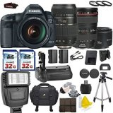 Canon-EOS-5D-Mark-III-223-MP-Full-Frame-CMOS-with-Canon-EF-24-105mm-f4-L-IS-USM-Tamron-AF-70-300mm-F4-56-Canon-EF-50mm-f18-II-2-Commander-32GB-Memory-Cards-Commander-UV-Filters
