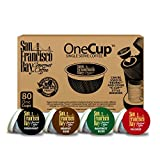 San Francisco Bay Coffee OneCup for Keurig K-Cup Brewers Variety Pack, 80 Count