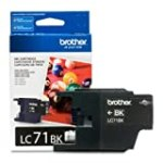 Brother Printer LC71BK Standard Yield Black Ink for $13.19 + Shipping