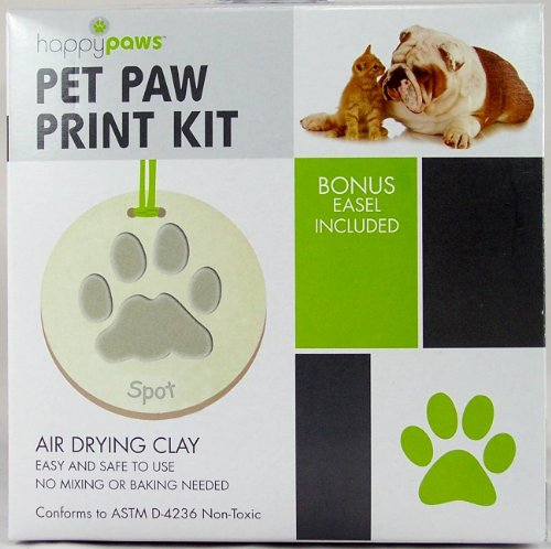 Pet Paw Print Christmas Ornament Kit