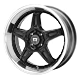 Motegi Racing SP5 (Series MR2698) Gloss Black - 17 x 7 Inch Wheel