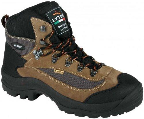 Original LYTOS mittelhoher Wander- u Outdoor-Schuhe mit Hydro TEX Membrane beige/schwarz Groesse-47