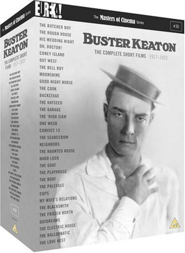 The Complete Buster Keaton Short Films [Masters of Cinema] [DVD] [1917]