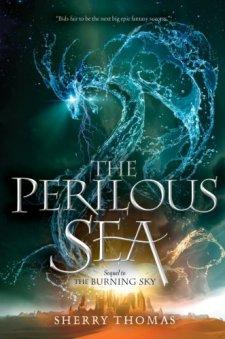 The Perilous Sea (The Elemental Trilogy) by Sherry Thomas| wearewordnerds.com
