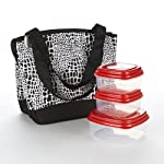 Hyannis Insulated Lunch Bag with Fresh Selects Set