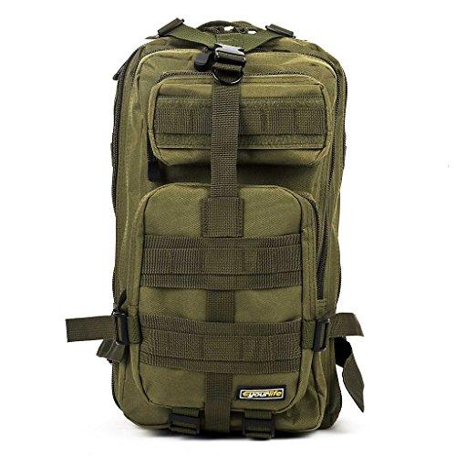 Eyourlife Military Tactical Backpack Small Rucksacks Hiking Bag ...