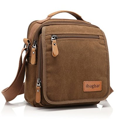 Ibagbar-Mens-Vintage-Canvas-Shoulder-Everyday-Bag-Brown