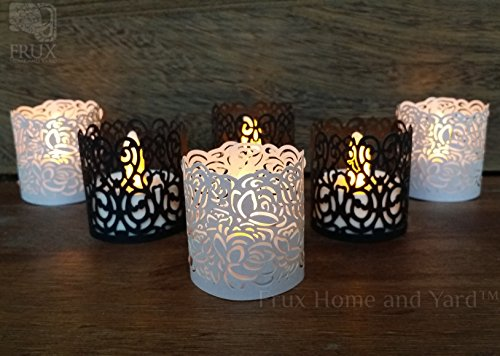 Battery Operated Tea Lights Colored