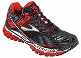 Brooks Men's Glycerin 10 Running Shoe,High Risk Red/Black/Silver,11 D US