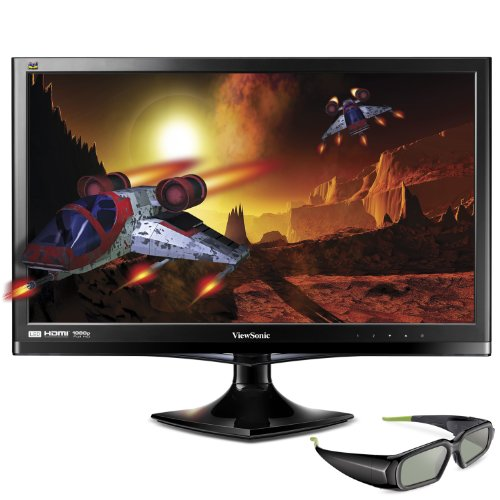 ViewSonic V3D245 24-Inches LED 3D-Ready Monitor - Black
