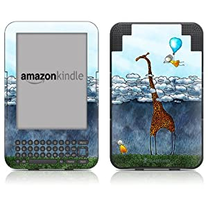 "DecalGirl Kindle Skin (Fits 6"" Display, Latest Generation Kindle) Above The Clouds (Matte Finish)"