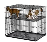 "MidWest Homes For Pets Puppy Playpen 224-10 with 1"" Floor Grid"