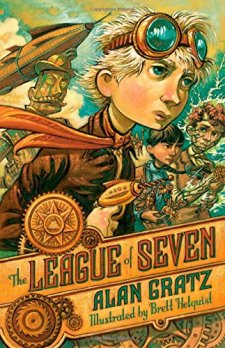 The League of Seven by Alan Gratz| wearewordnerds.com
