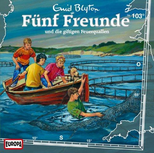 Fünf Freunde (103) und die giftigen Feuerquallen (Europa)