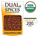 DualSpices Rooibos Tea Organic 1 Pound Loose Leaf Tea USDA Organic