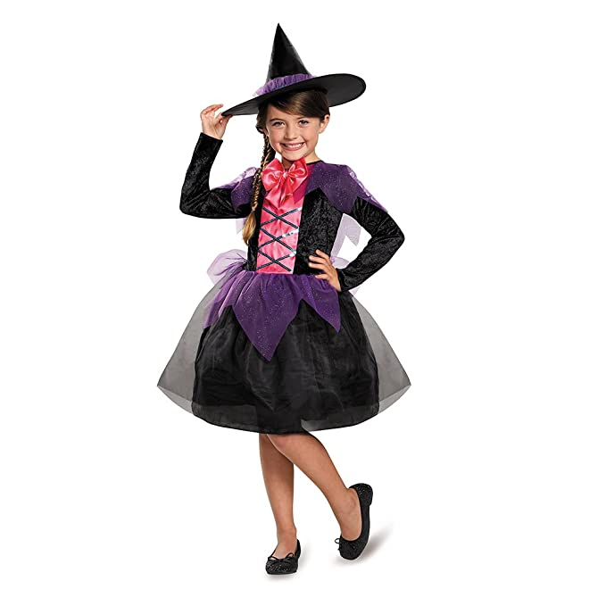 Disguise Witch Costume, Large (4-6x)