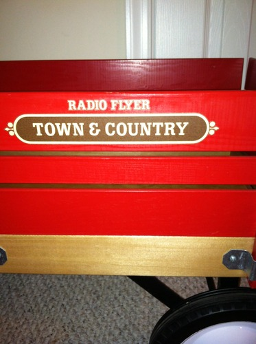 Radio Flyer Town And Country Wagon Toys Amp Games