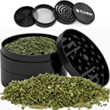 iCooker Marijuana Herb Grinder With Pollent Catcher [Grinds Weed] Best for Spice Tobacco