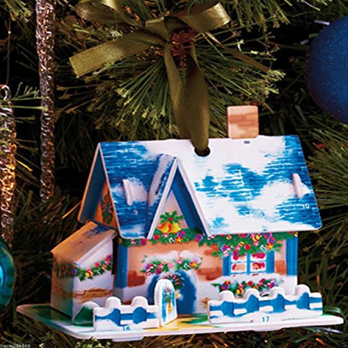 36 PCS Christmas Greeting Cards Box Set Holiday Village