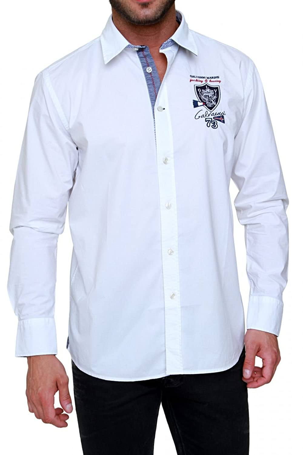 Galvanni Shirt BORIS, Color: White