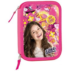 Soy-Luna-Estuche-escolar-garnie-doble-con-accesorios-patines-en-lnea-Fly-soy-Luna