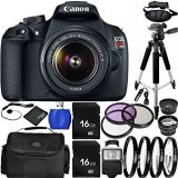 Canon-EOS-Rebel-T5-DSLR-Camera-Bundle-with-EF-S-18-55mm-f35-56-IS-II-Lens-Carrying-Case-and-Accessory-Kit-19-Items