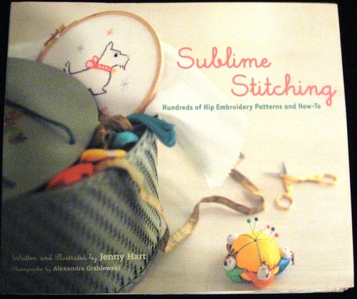Sublime stitching by Jenny Hart