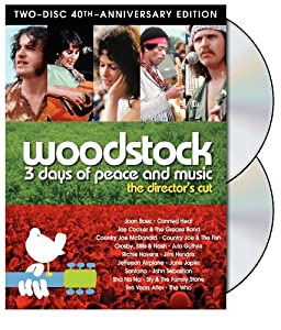 """Cover of """"Woodstock - 3 Days of Peace & M..."""