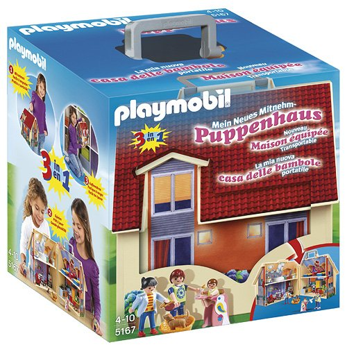 Playmobil 5167 – Casa delle Bambole Portatile