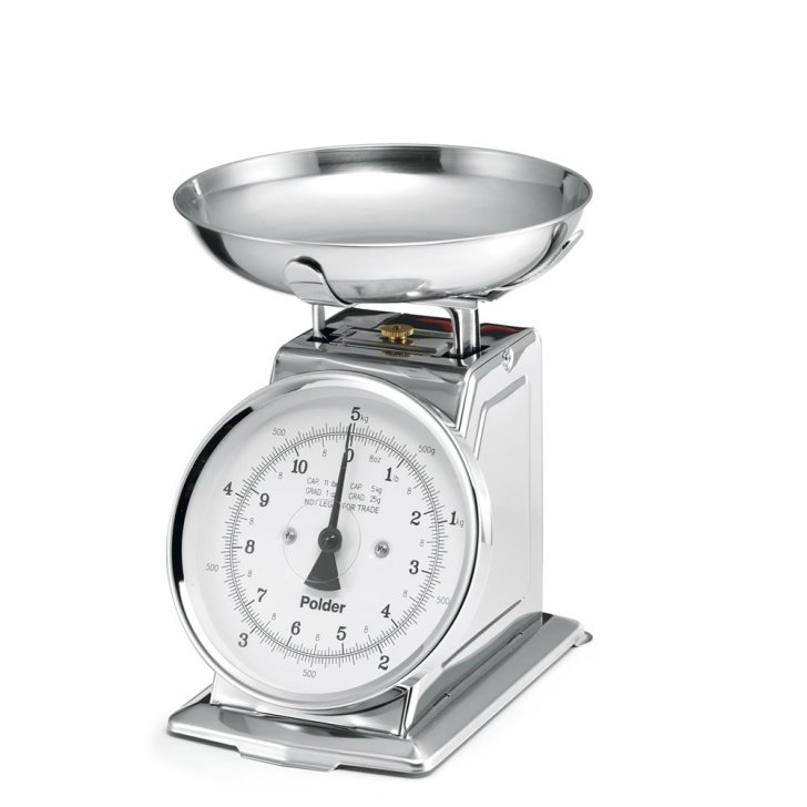 Polder 985 Stainless Steel Kitchen Scale Best Digital Scales