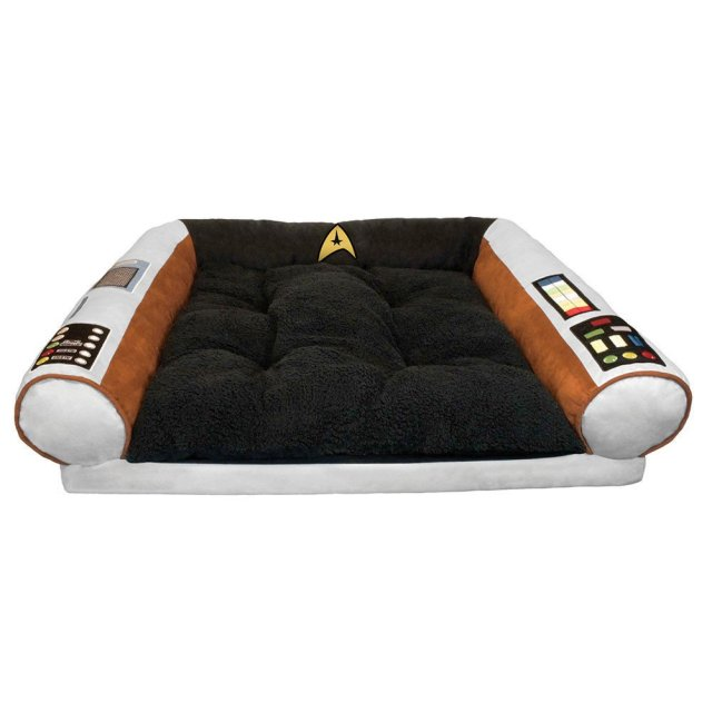 Star Trek Dog Bed - Captain's Chair - Command the Enterprise with your Dog
