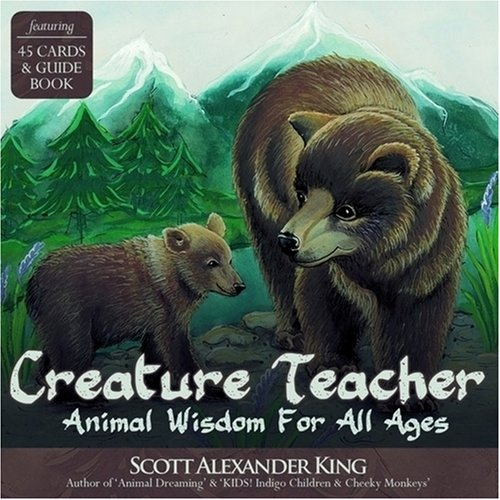 Creature Teacher Cards: Animal Wisdom for All Ages, Oracle Card and Book Set