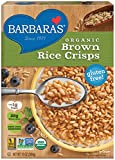 Barbara's Organic Brown Rice Crisps Cereal, 10 Ounce (Pack of 6)