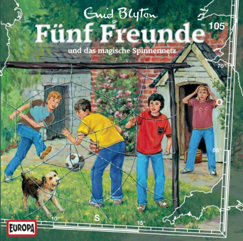 Fünf Freunde (105) und das magische Spinnennetz (Europa)