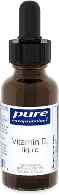 Pure Encapsulations - Vitamin D3 Liquid - 22.5ml [Health and Beauty]