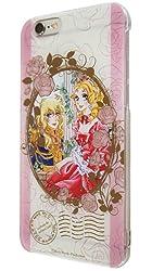 バンダイ ベルサイユのばら iPhone6対応 キャラクタージャケット 薔薇フレーム BBR-02B