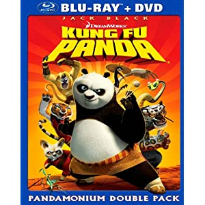 Kung Fu Panda (Two Disc Blu-ray/DVD Combo)