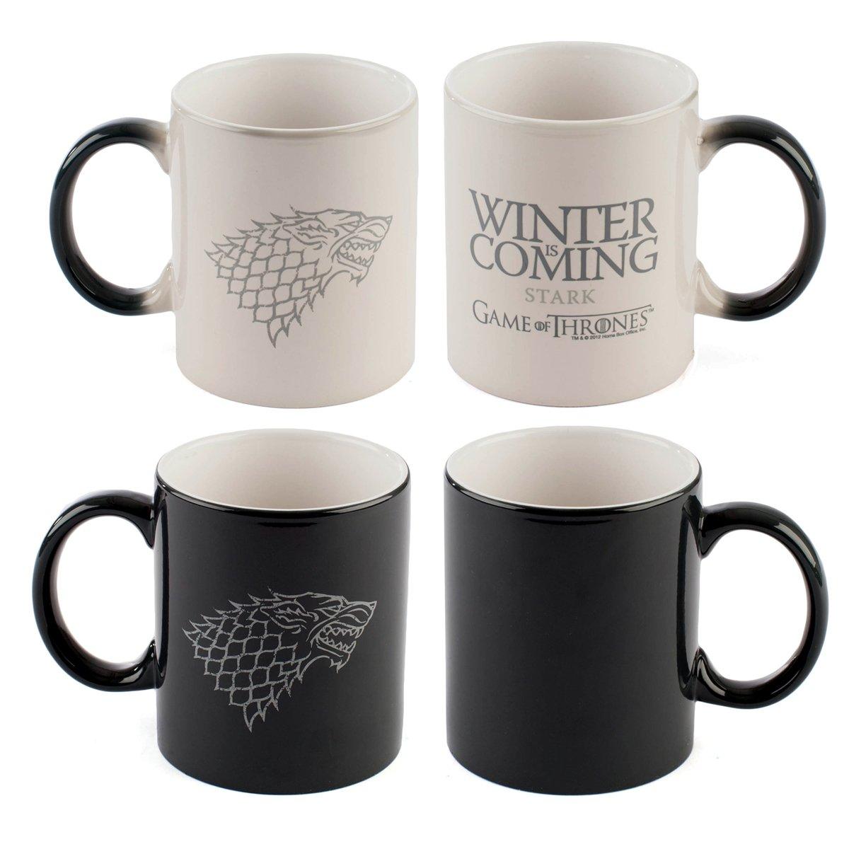 Game of Thrones Winter Is Coming Heat Sensitive Mug