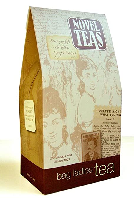 Novel Teas contains 25 teabags individually tagged with literary quotes from the world over, made with the finest English Breakfast tea.