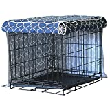 molly mutt Crate Cover Romeo and Juliet, Huge, Blue