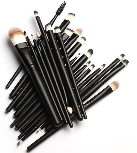 KOLIGHT® 20 Pcs Pro Makeup Set Powder Foundation Eyeshadow Eyeliner Lip Cosmetic Brushes