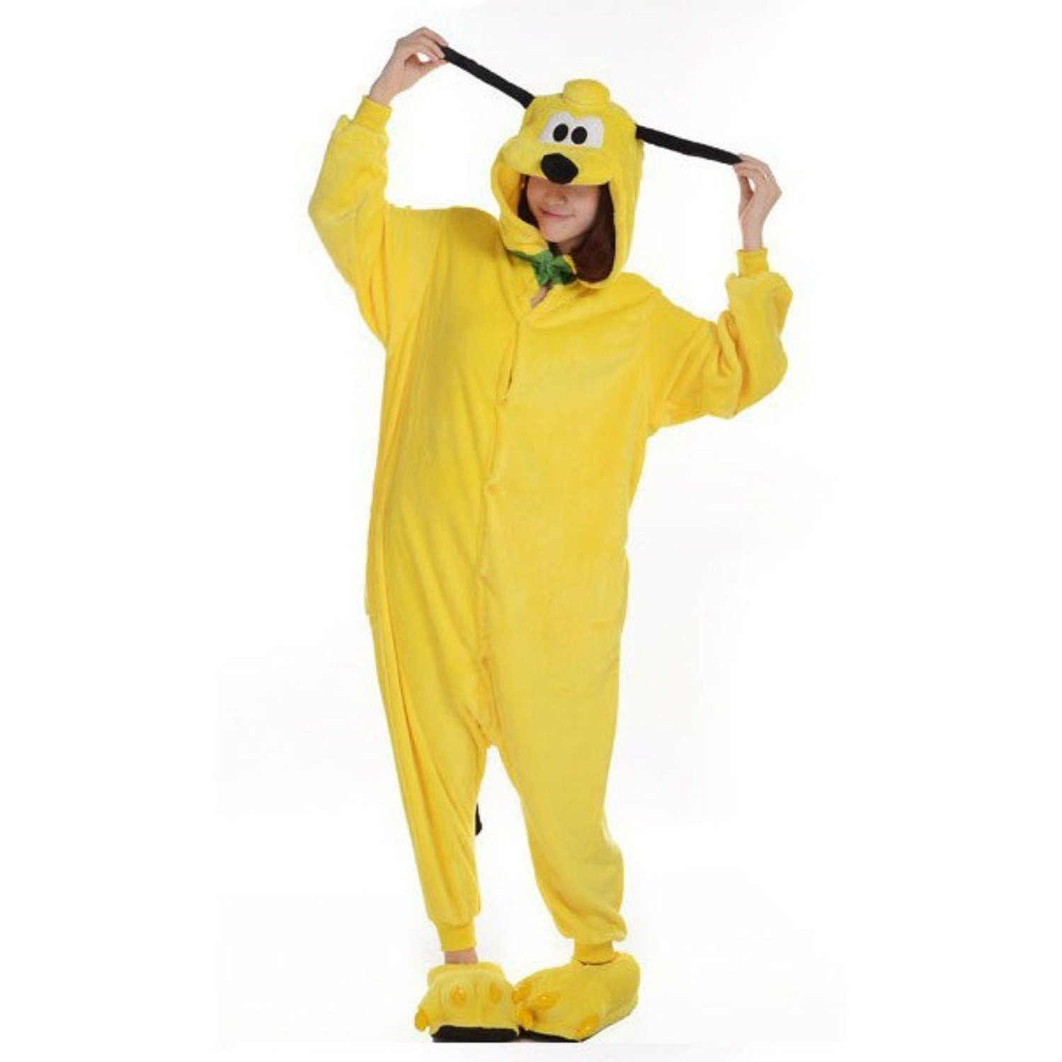 Pluto Dog Kigurumi Costume,Unisex Adult Pyjamas