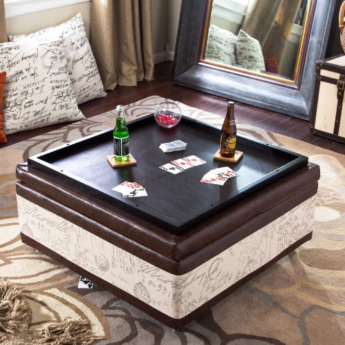 Large Storage Footstool Coffee Table
